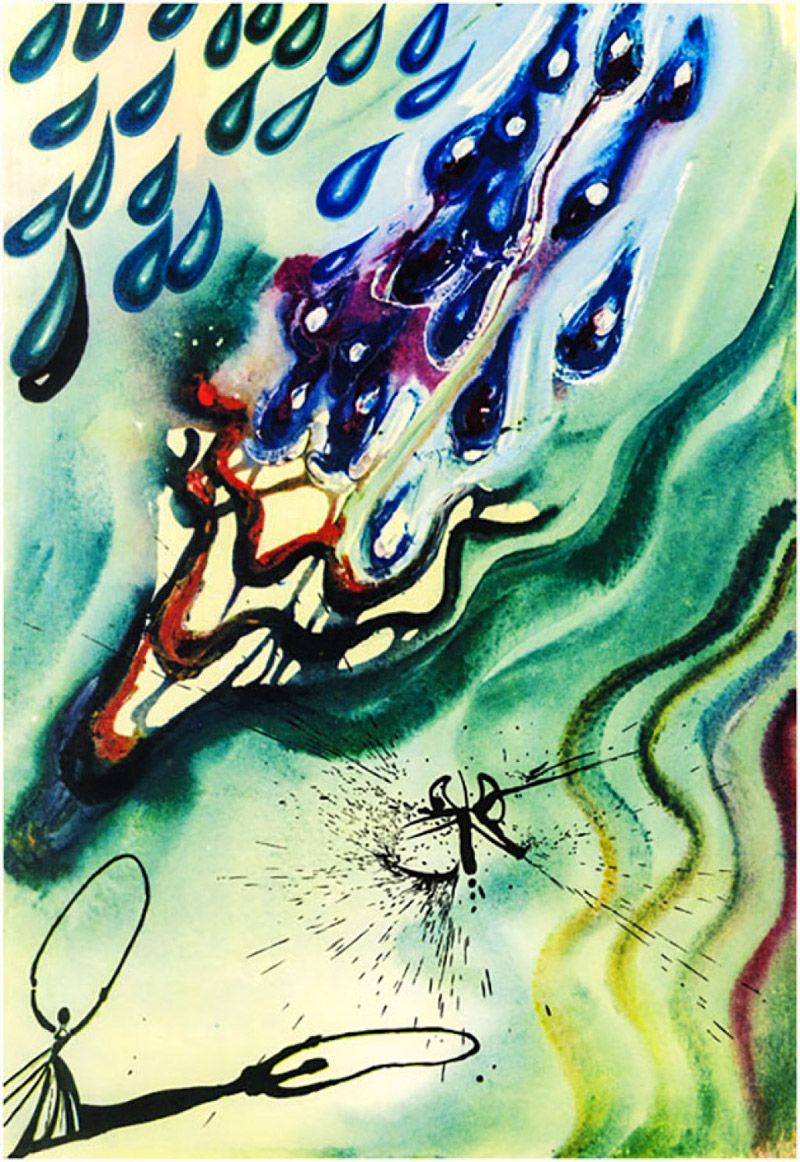3_Salvador Dali Alice in Wonderland