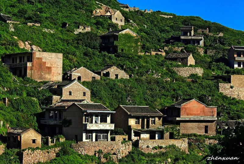 3_abandoned fishing village in China