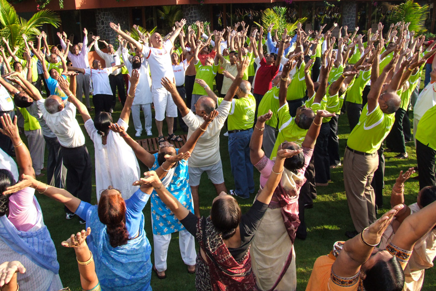 4_Laughter yoga