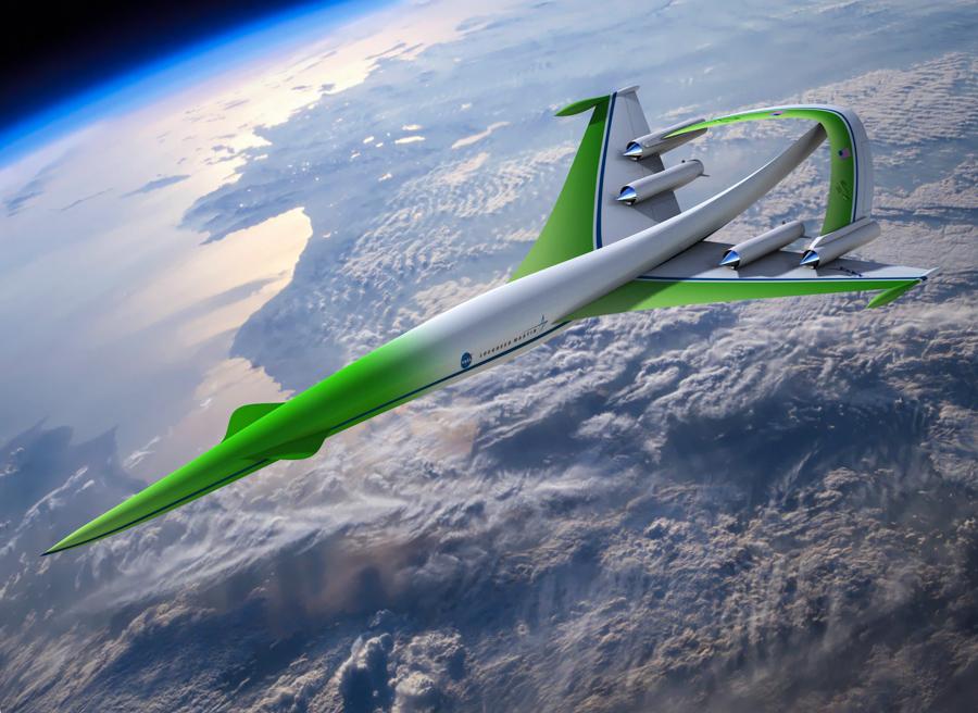 4_NASA supersonic plane