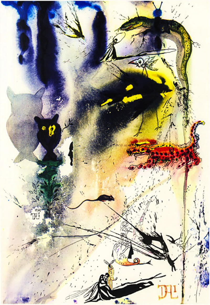 4_Salvador Dali Alice in Wonderland