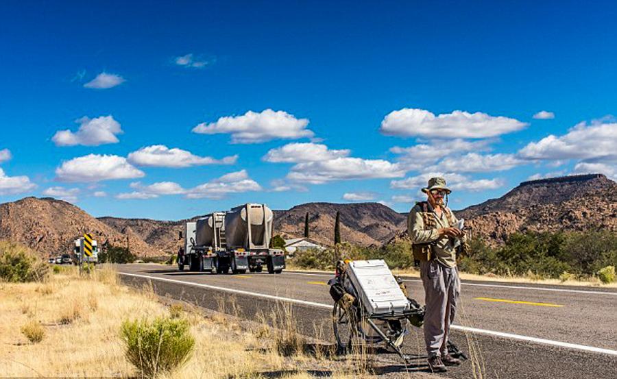 5_Man on longest walk