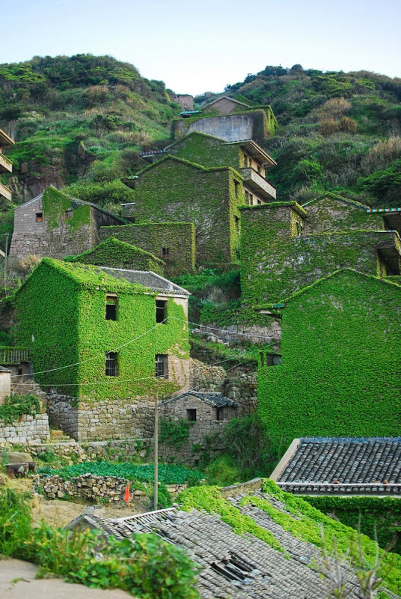 5_abandoned fishing village in China