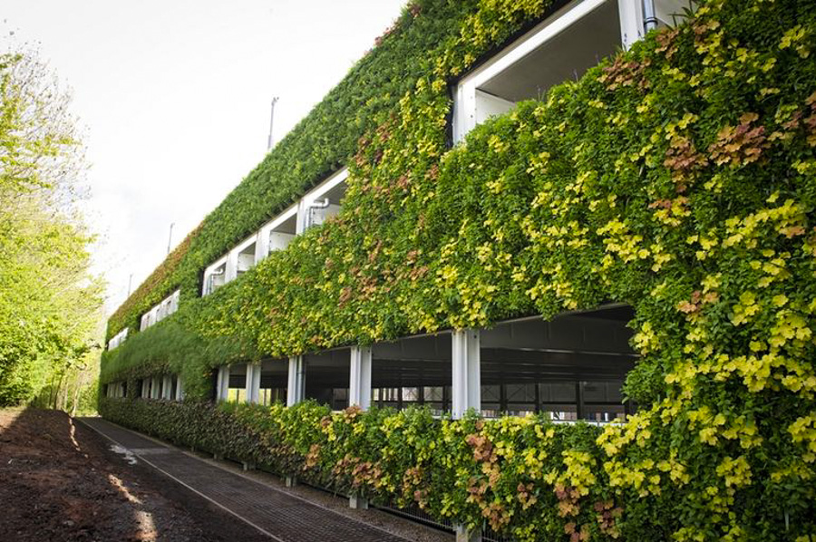 7_Europe's largest living wall