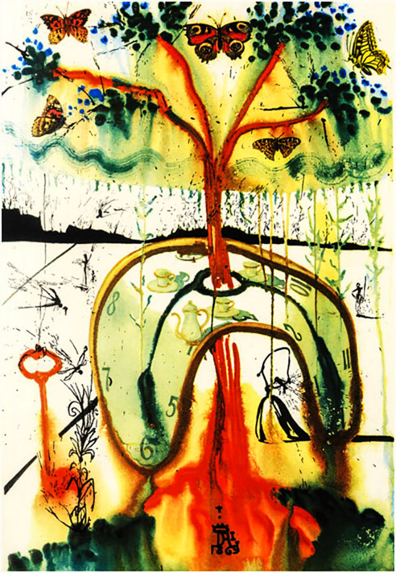 8_Salvador Dali Alice in Wonderland