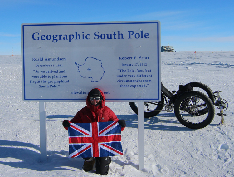 4_cyclist travels to South Pole