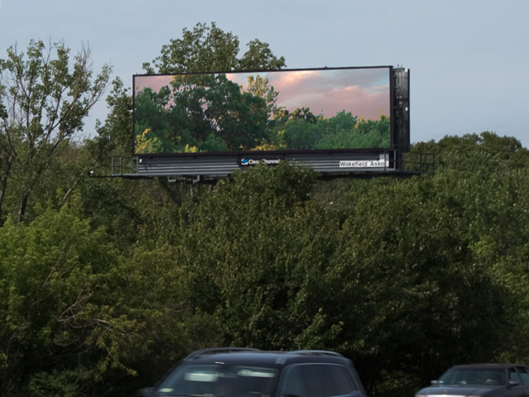 2_ Ads replaced with photos of nature