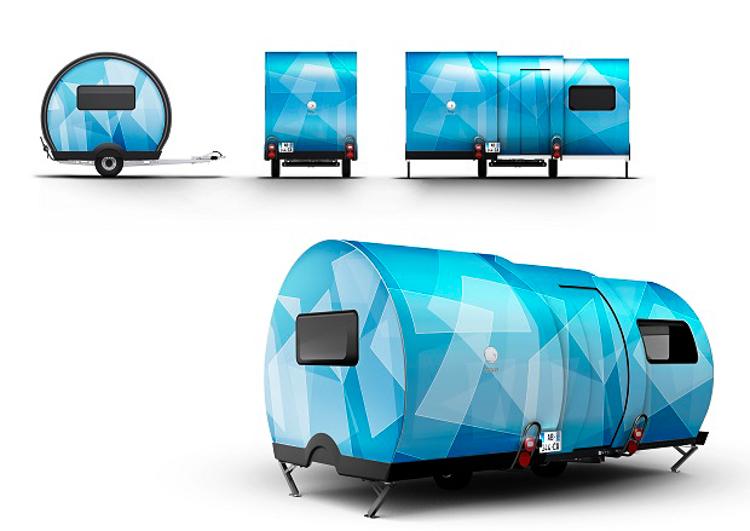 9_telescoping road-trip mobile camper