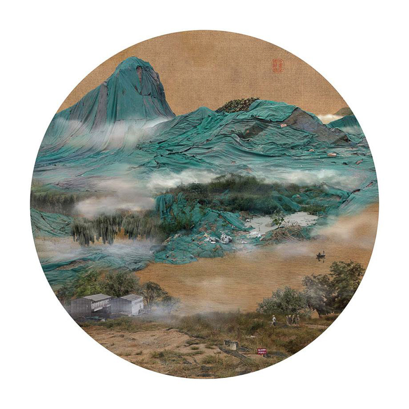 10_traditional Chinese landscapes Garbage