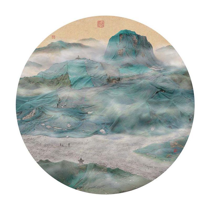 11_traditional Chinese landscapes Garbage