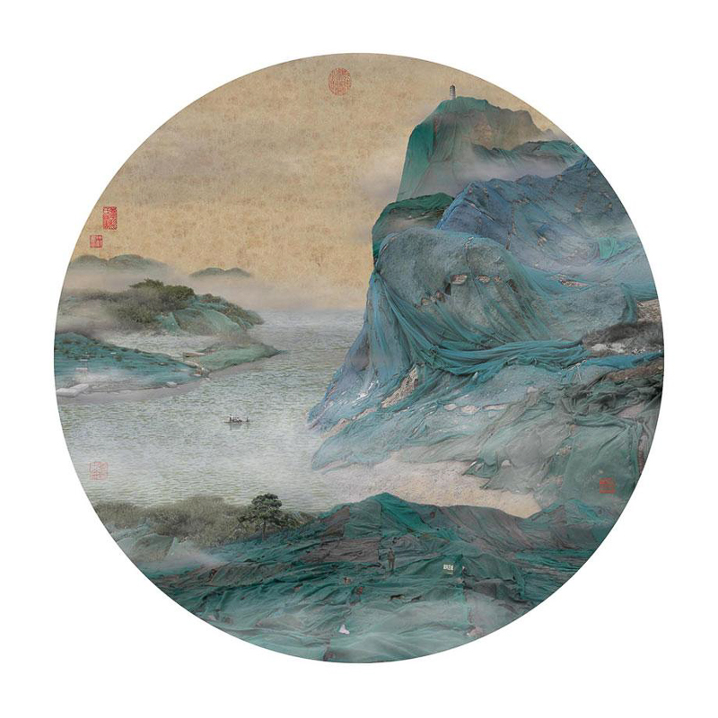 12_traditional Chinese landscapes Garbage