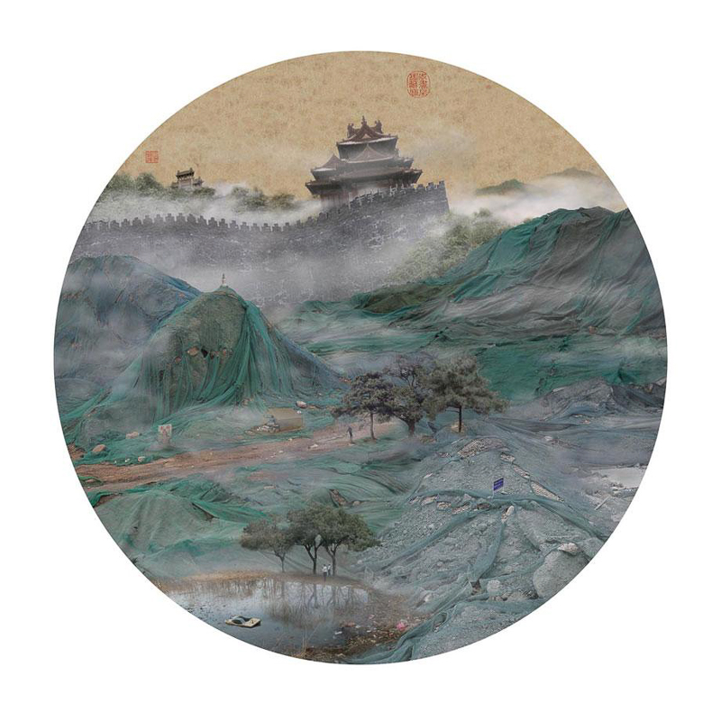 13_traditional Chinese landscapes Garbage