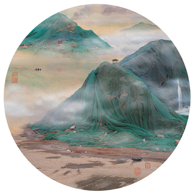 1_traditional Chinese landscapes Garbage