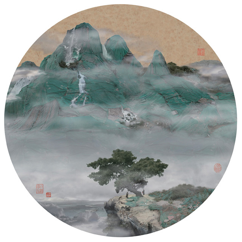 2_traditional Chinese landscapes Garbage