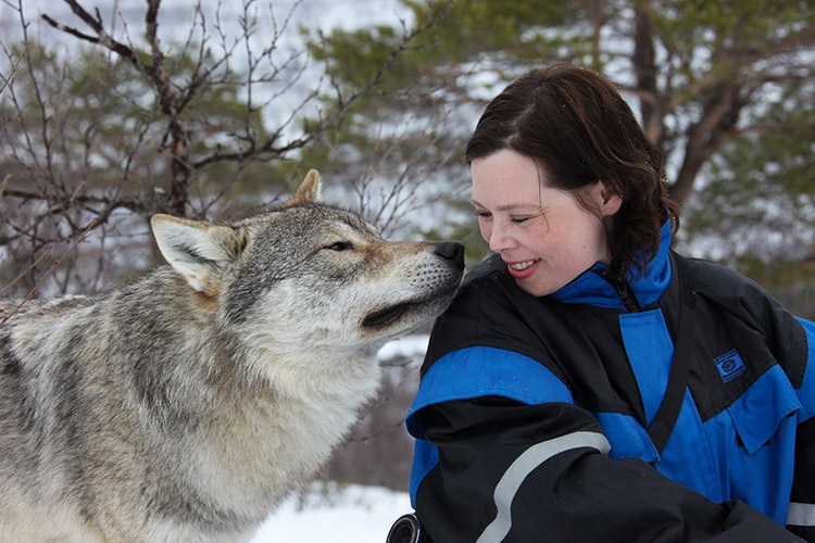 3_cuddle with wolves
