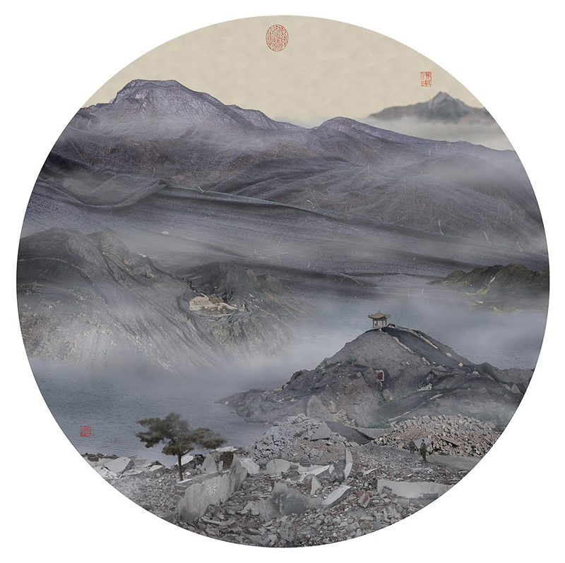4_traditional Chinese landscapes Garbage