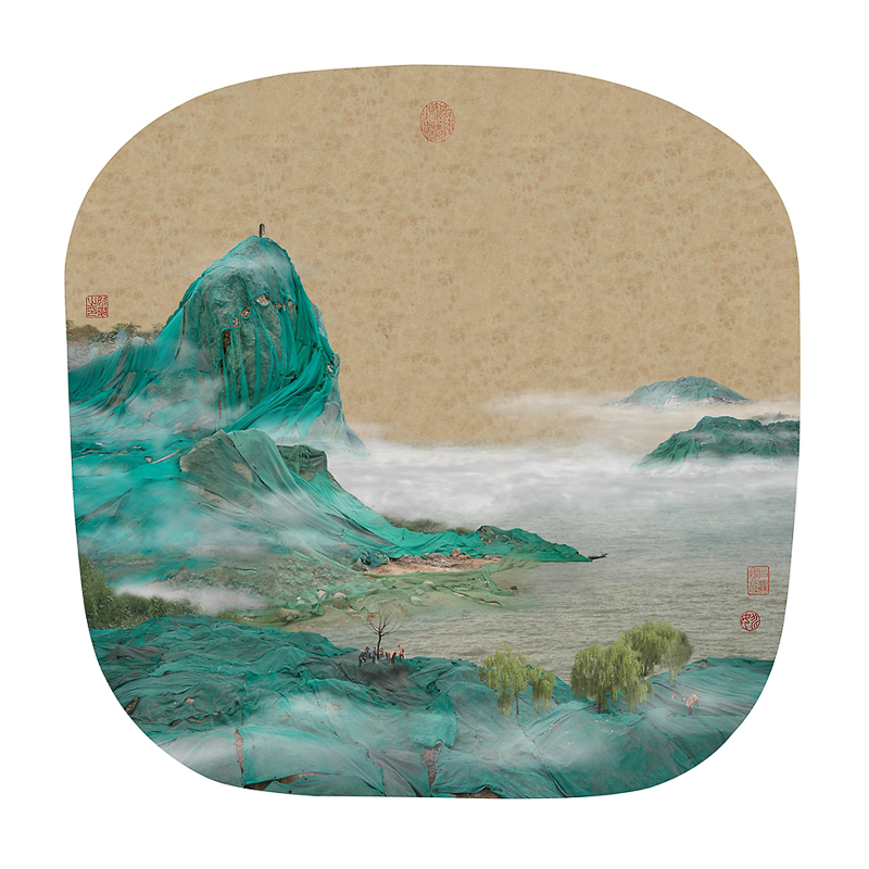 6_traditional Chinese landscapes Garbage