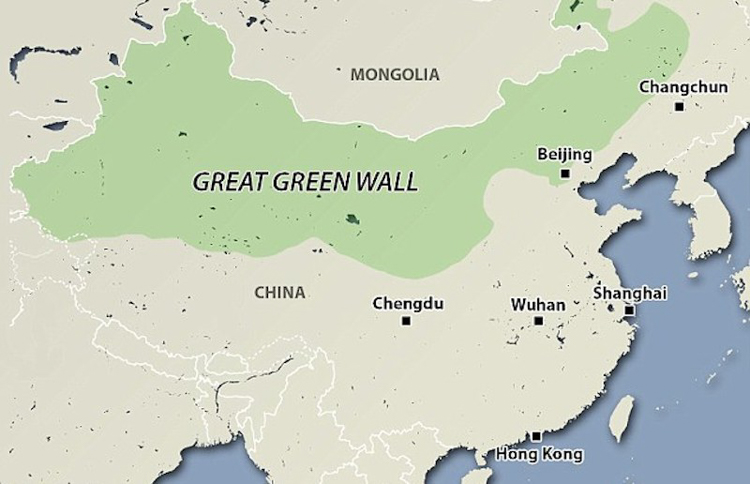 7_China Great Green Wall