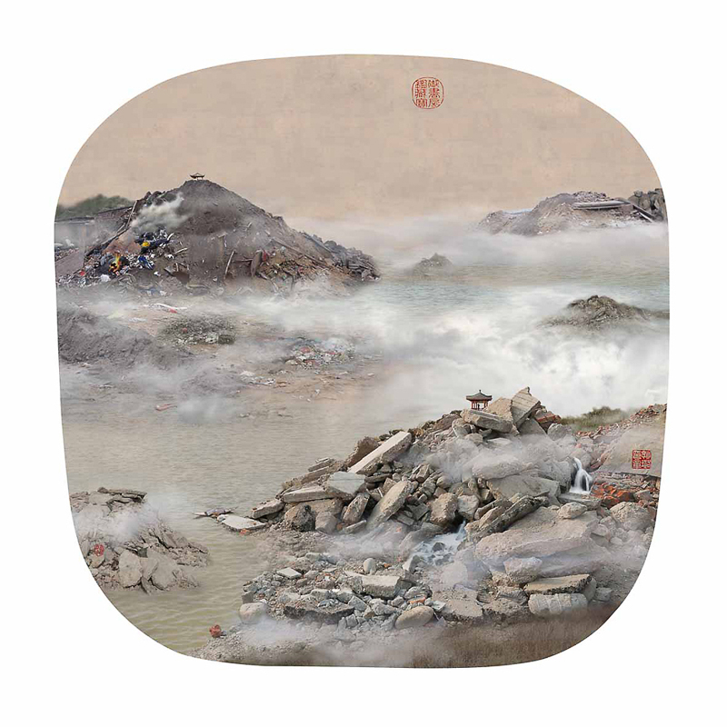 7_traditional Chinese landscapes Garbage