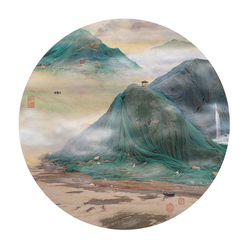 9_traditional Chinese landscapes Garbage