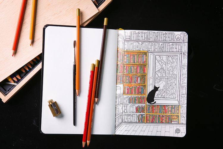 1_adult colouring books