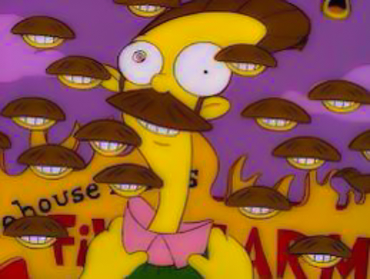 2_watching The Simpsons on LSD