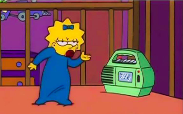8_watching The Simpsons on LSD