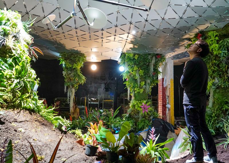 2_green subterranean oasis