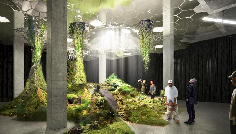 3_green subterranean oasis