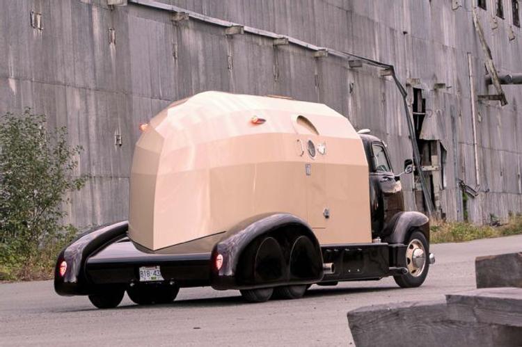 4_ Chevy's classic truck camper