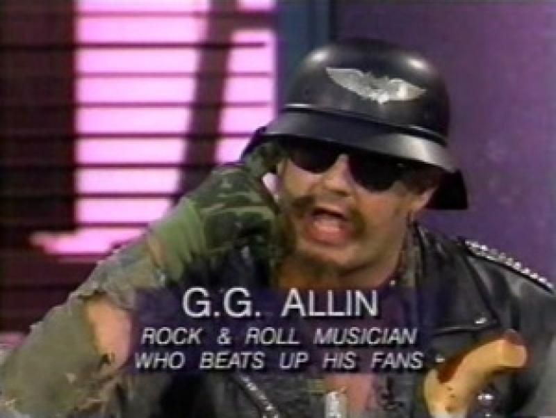 4_punk rocker threw shit on people