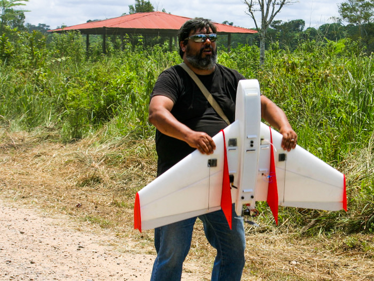 2_drone to hunt down illegal miners