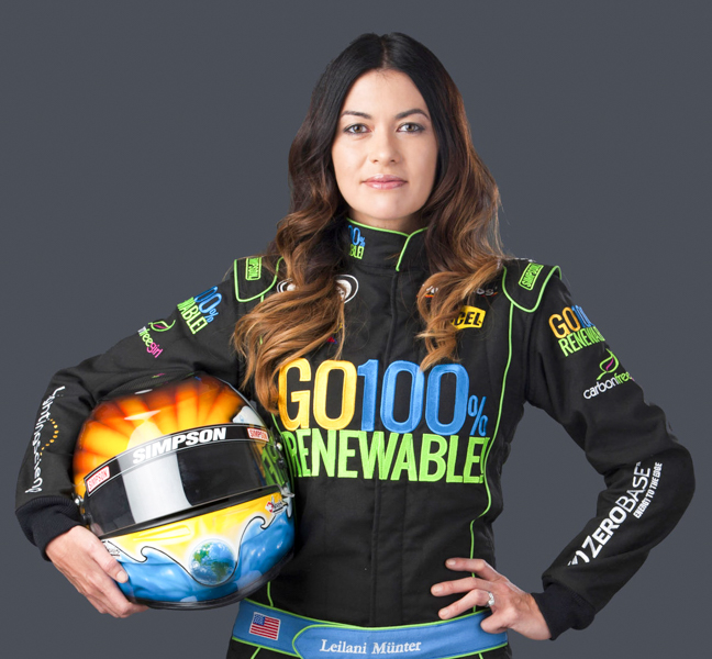 2_environmental activist female racecar driver