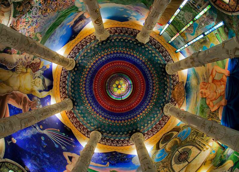 6_underground network of psychedelic temples Alps