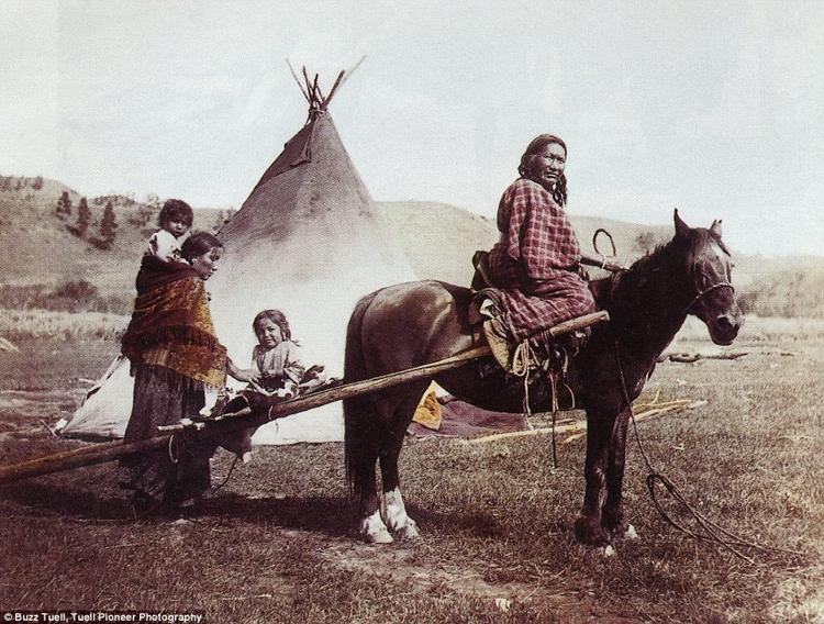 12_Native American Colorized Photos
