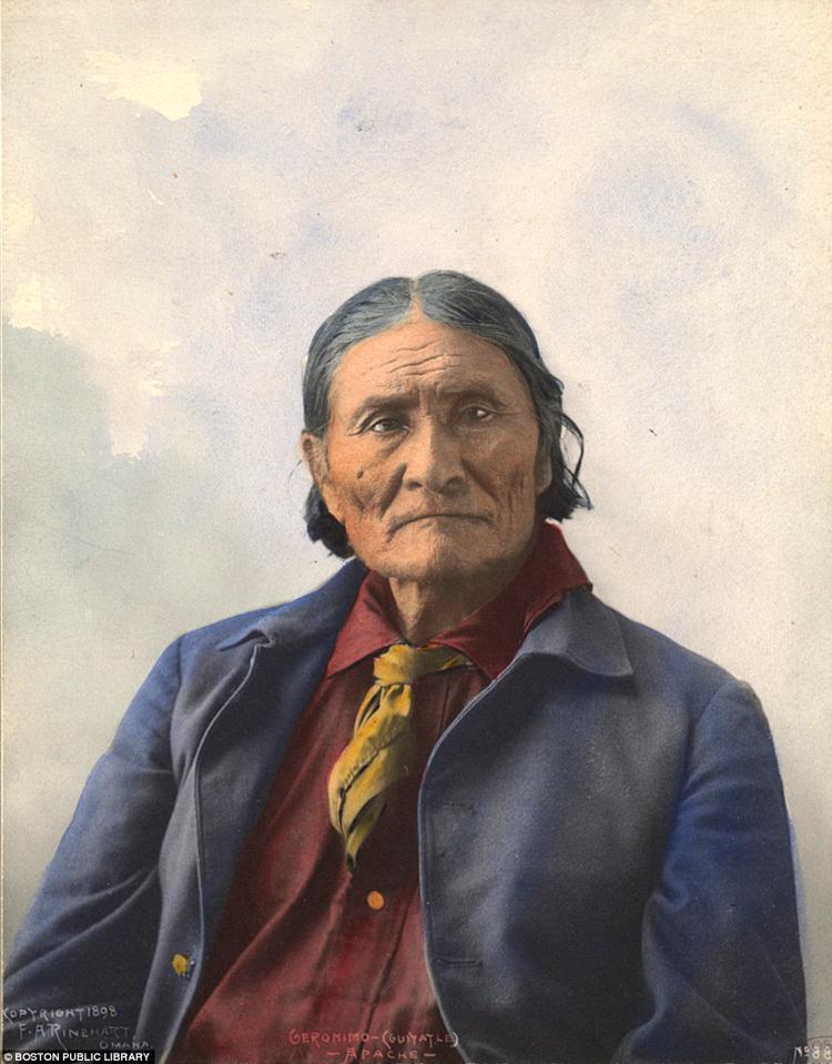 2_Native American Colorized Photos