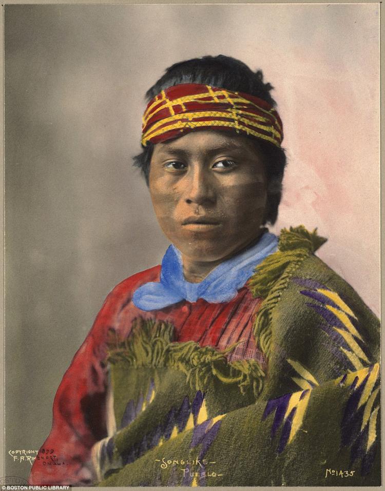 3_Native American Colorized Photos