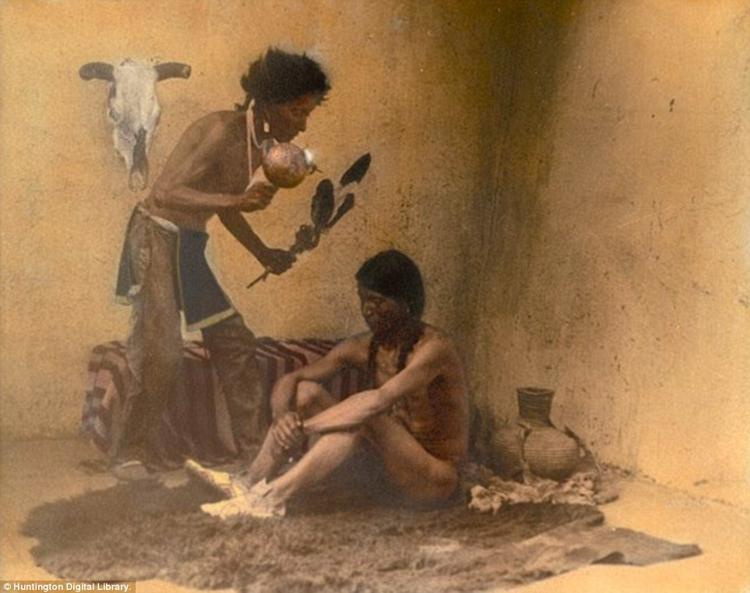 4_Native American Colorized Photos