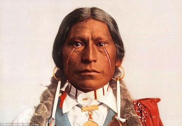 5_Native American Colorized Photos
