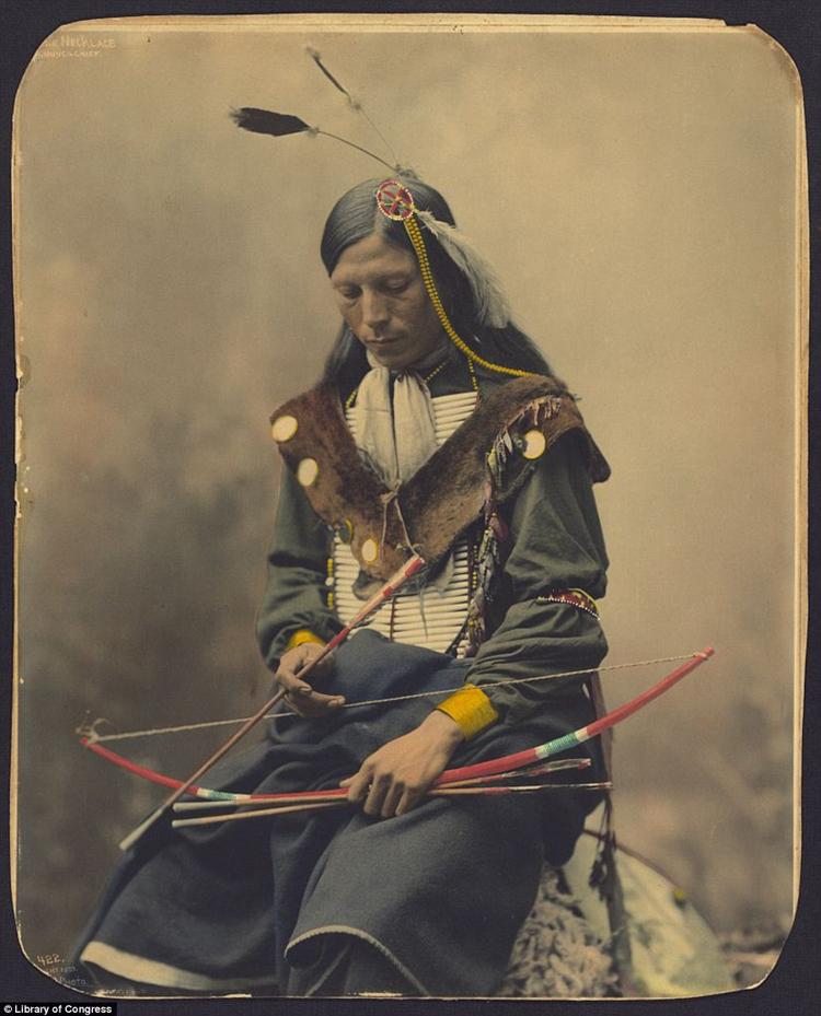 6_Native American Colorized Photos