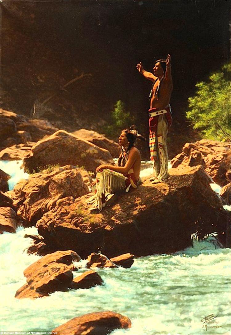 7_Native American Colorized Photos