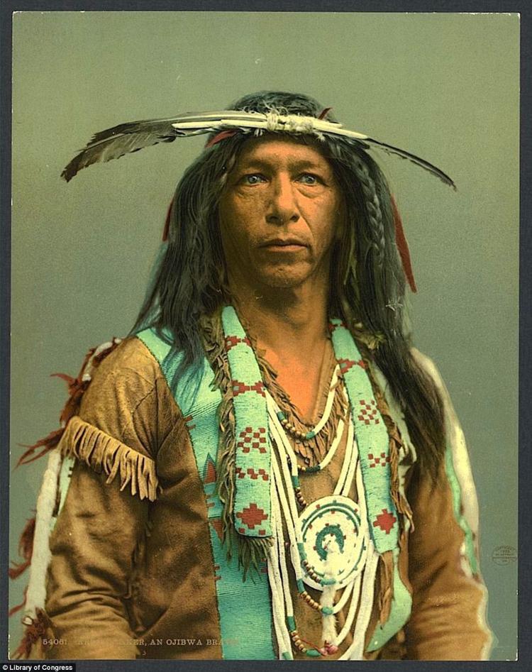 9_Native American Colorized Photos