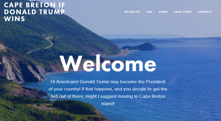 3_Canadian island is welcoming Trump Refugees
