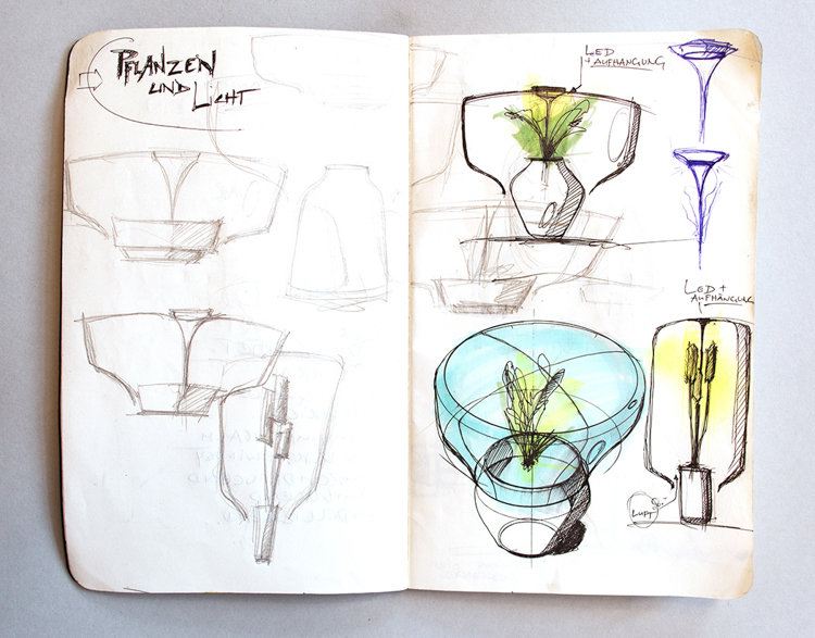 5_glass lamp grows plants in windowless spaces