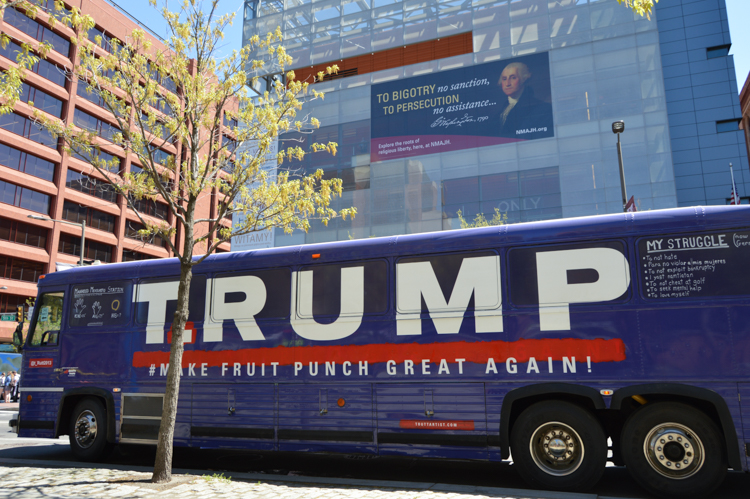 3_Artists Are Using Trump's Old Bus to Redefine His Brand