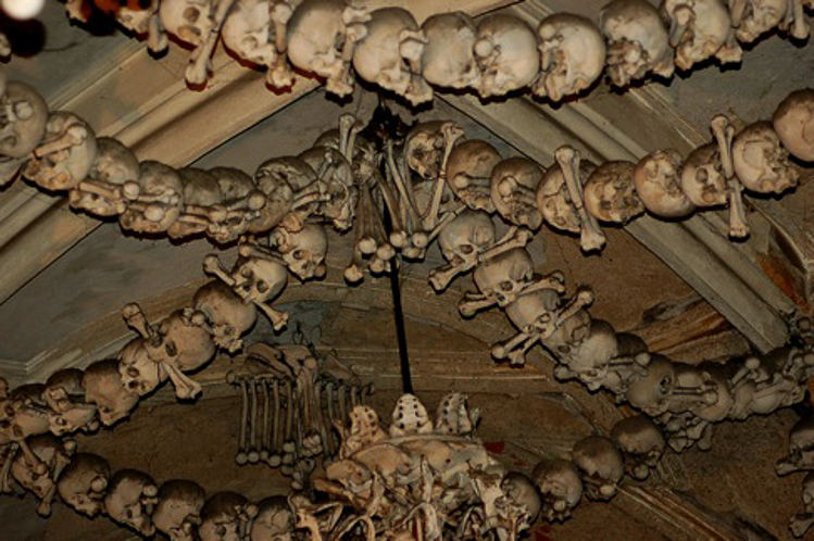 3_church is decorated with over 40,000 human skeletons