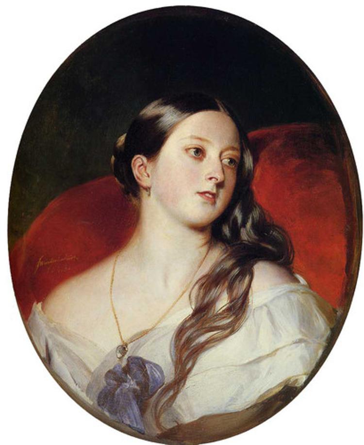 4_Queen Victoria a borderline nymphomaniac