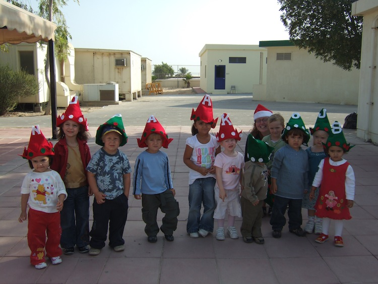 I was an elementary school student when I lived in Dhahran. I went to school with kids from all over the world.