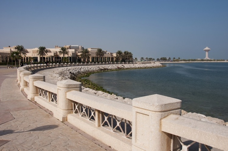 This is Al-Khobar corniche, where I would spend a lot of my weekends with my parents. Even now, when I go back to Saudi, I make sure to stop by here. It reminds me of how far I've come, and calms me.