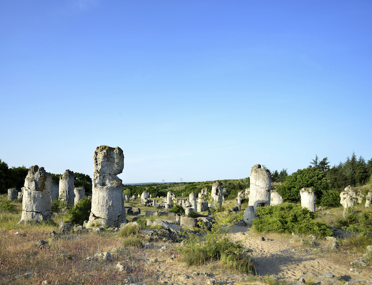 Rock phenomenon Pobiti Kamani (Stone forest)